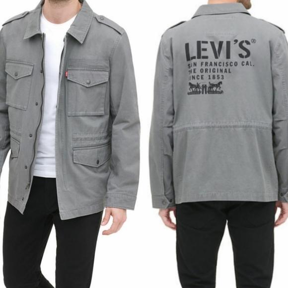 LEVI'S Men's Midweight Field Jacket Size L